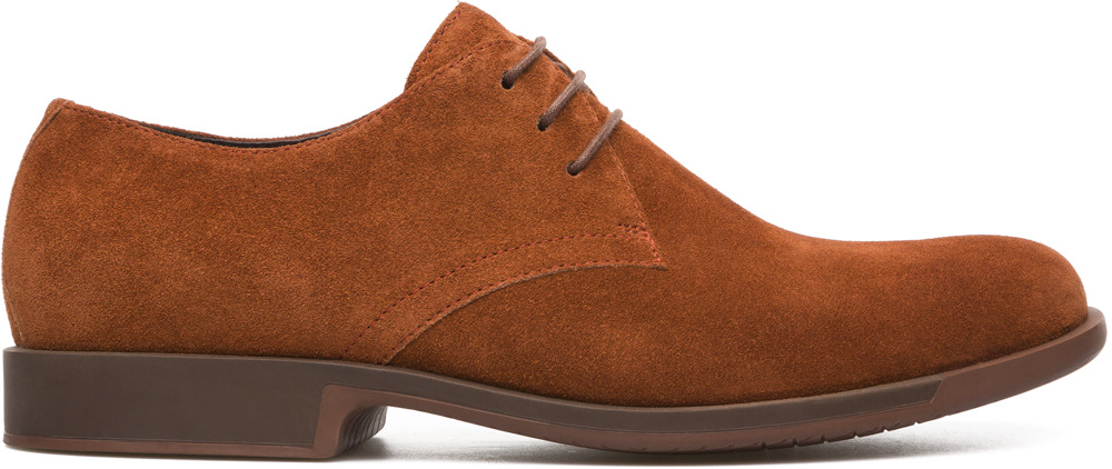 Camper Rebowie Brown Formal shoes Men K100059-002