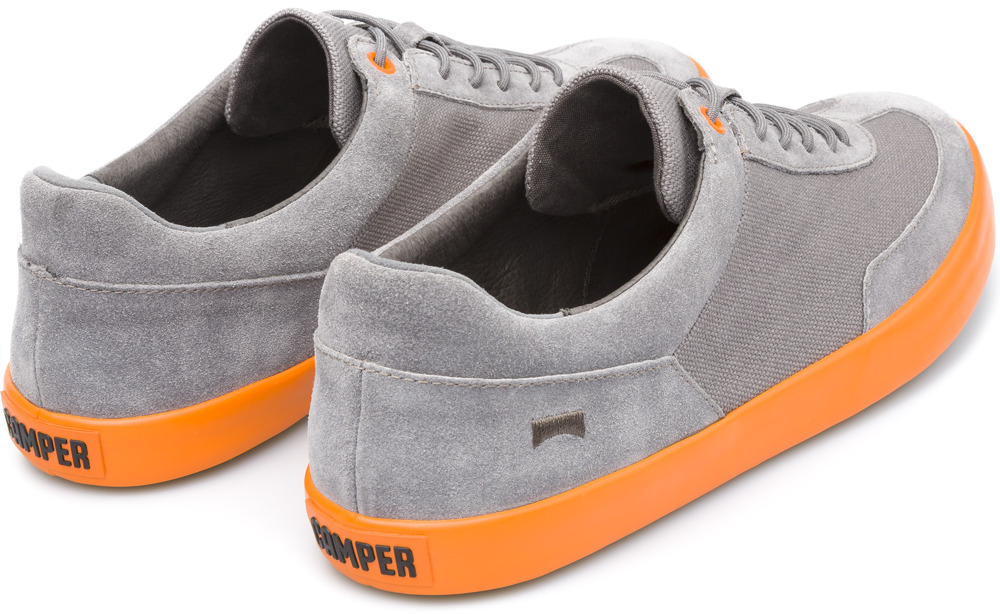 Camper Pursuit Grey Sneakers Men K100060-004