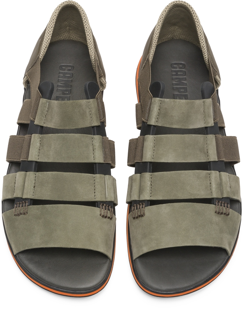 Camper Spray Green Sandals Men K100083-003