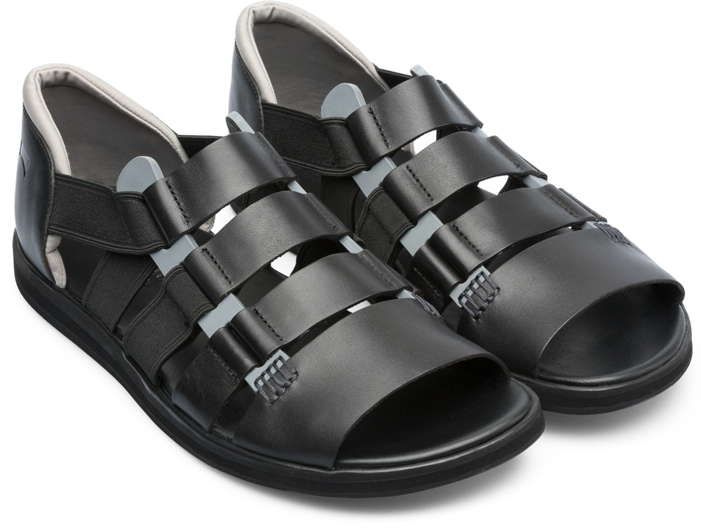 Camper Spray Black Sandals Men K100083-006
