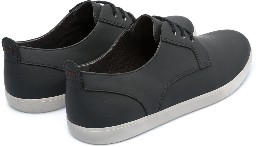 Camper Jim Black Casual Shoes Men K100084-022