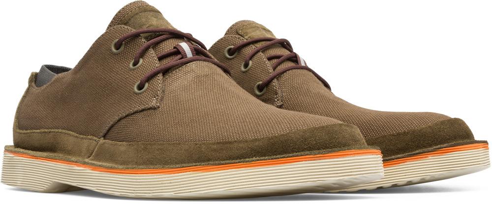Camper Morrys Green Formal Shoes Men K100088-004