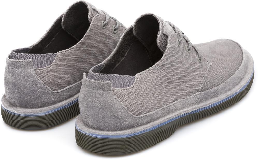 Camper Morrys Grey Formal Shoes Men K100088-005