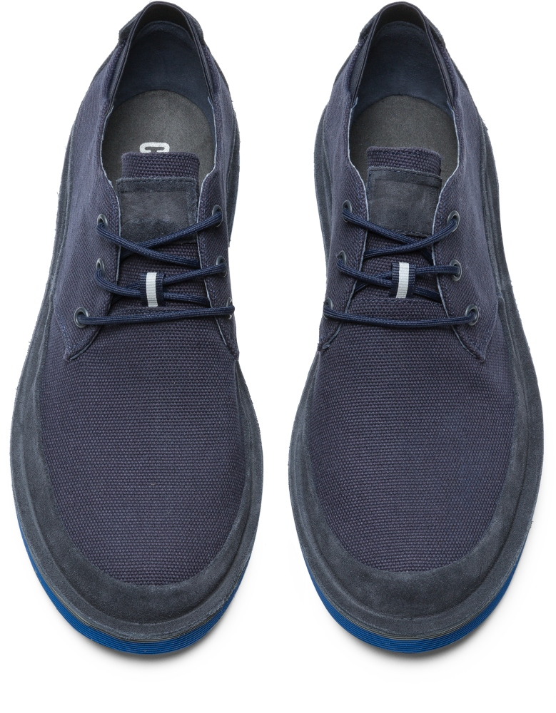 Camper Morrys Blue Formal Shoes Men K100088-008