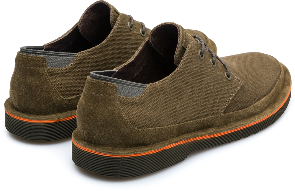Camper Morrys Green Formal Shoes Men K100088-010