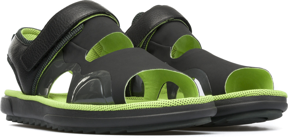 Camper Marges Black Sandals Men K100136-002
