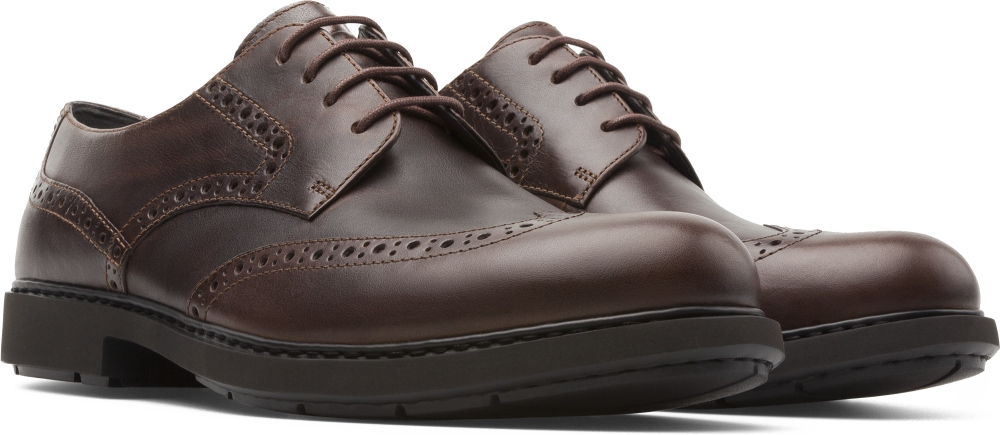 Camper Neuman Brown Formal Shoes Men K100156-003