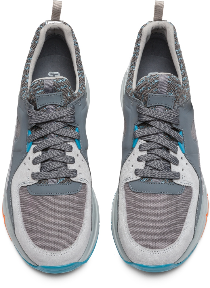 Camper Drift Grey Sneakers Men K100169-013