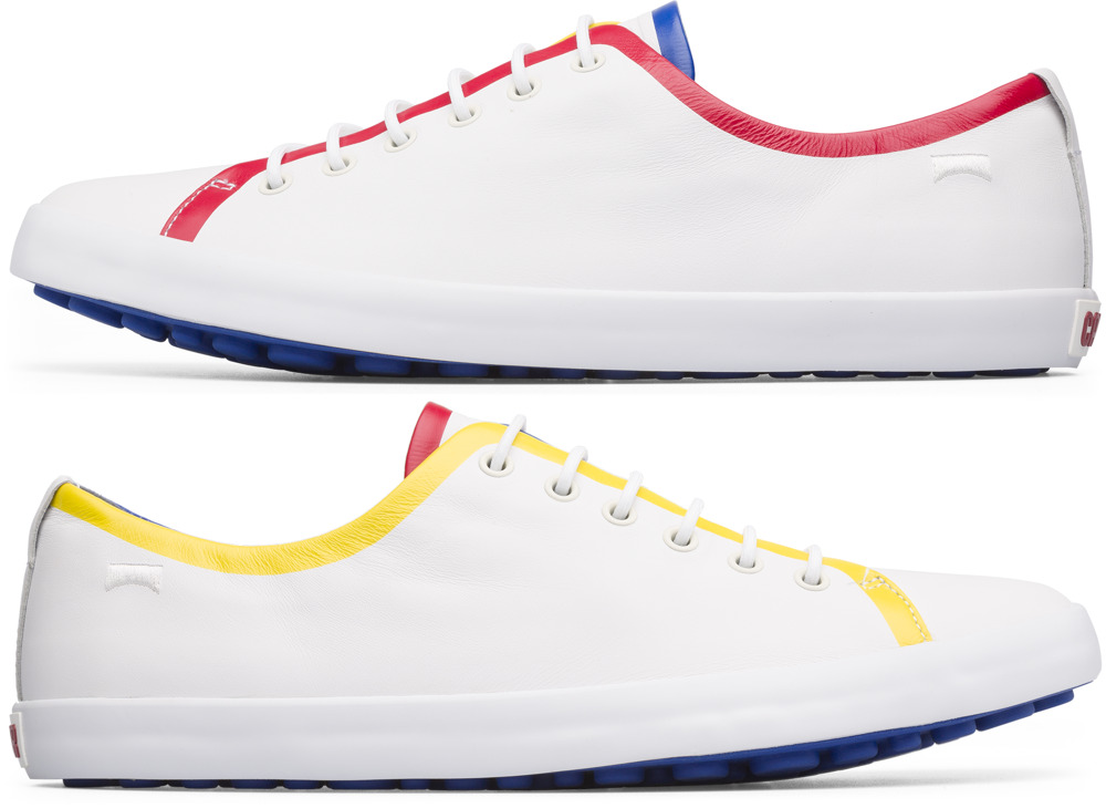 Camper Twins White Sneakers Men K100198-002