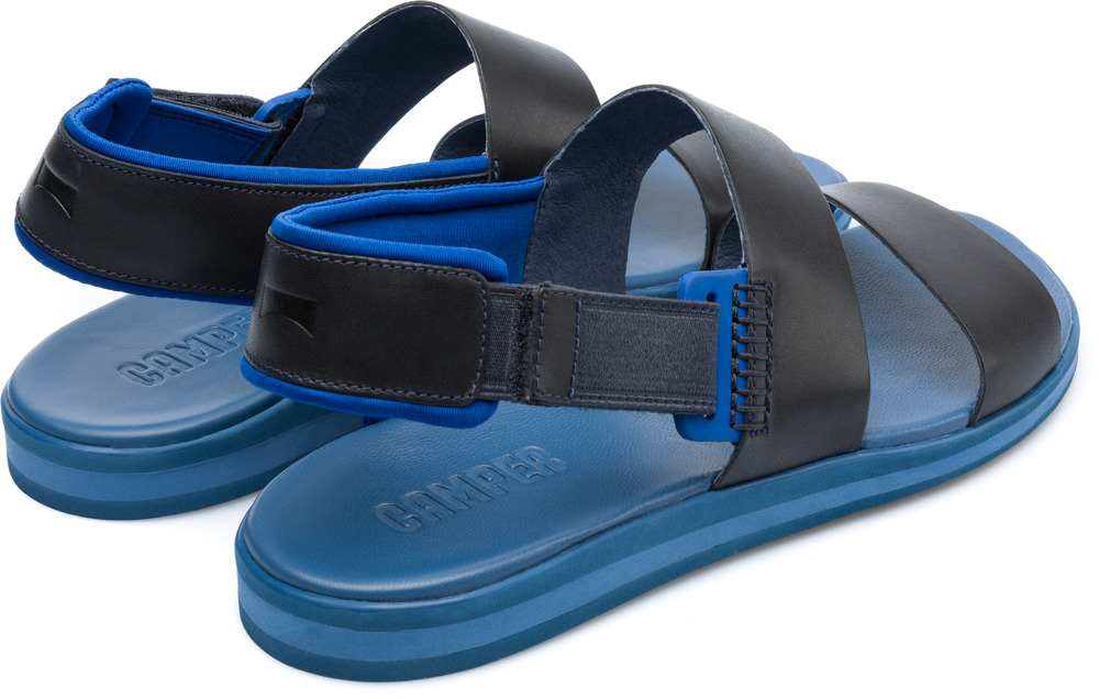 Camper Spray Blue Sandals Men K100206-004