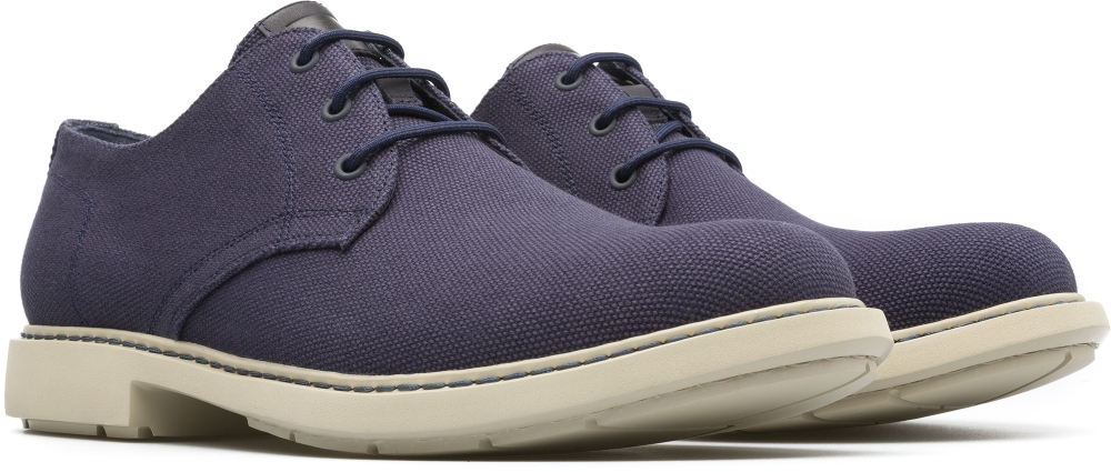 Camper Neuman Blue Formal Shoes Men K100221-001