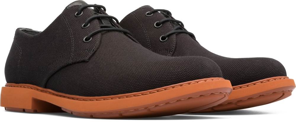 Camper Neuman Black Formal Shoes Men K100221-002
