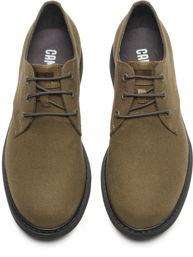 Camper Neuman Green Formal Shoes Men K100221-004