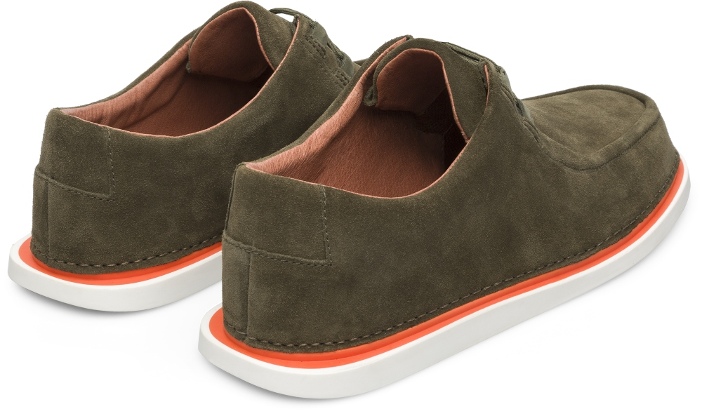 Camper Nixie Green Casual Shoes Men K100223-001