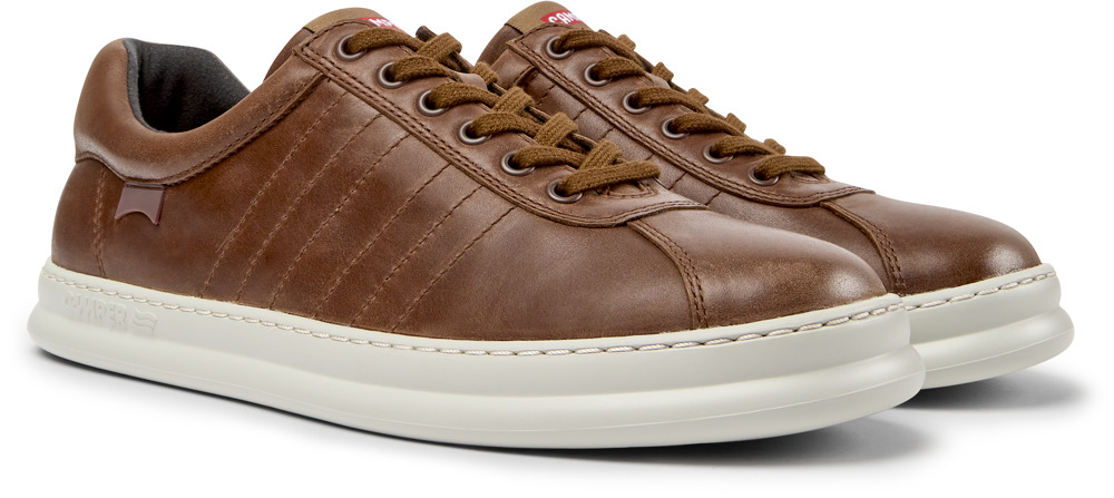Camper Runner Brown Sneakers Men K100227-014