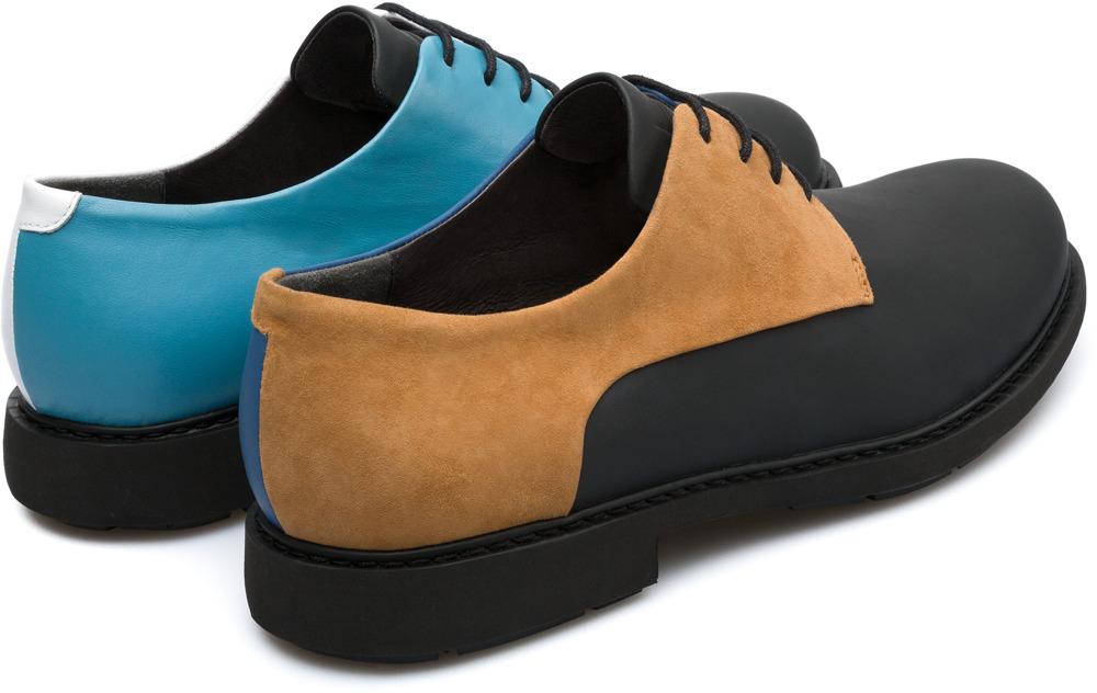 Camper Twins Wielokolorowy Eleganckie buty Mężczyźni K100240-002