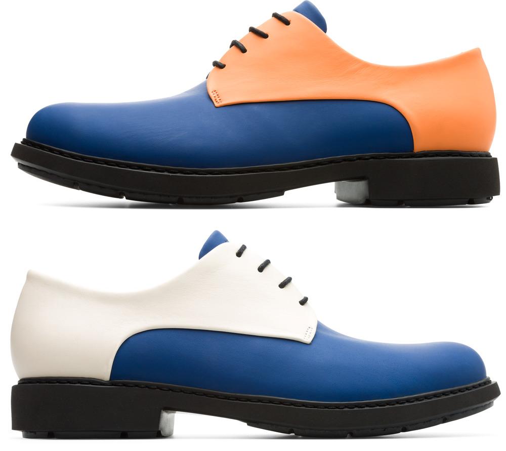 Camper Twins Multicolor Zapatos de vestir Hombre K100240-003