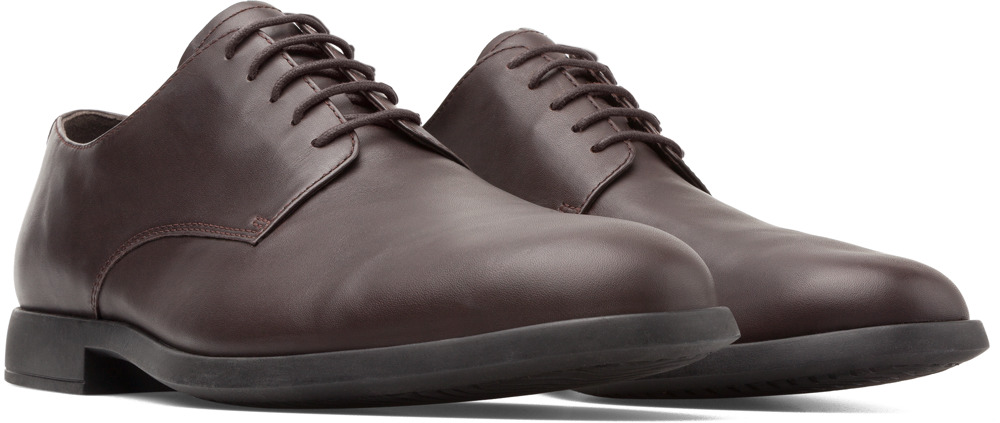 Camper Truman Brown Formal Shoes Men K100243-003