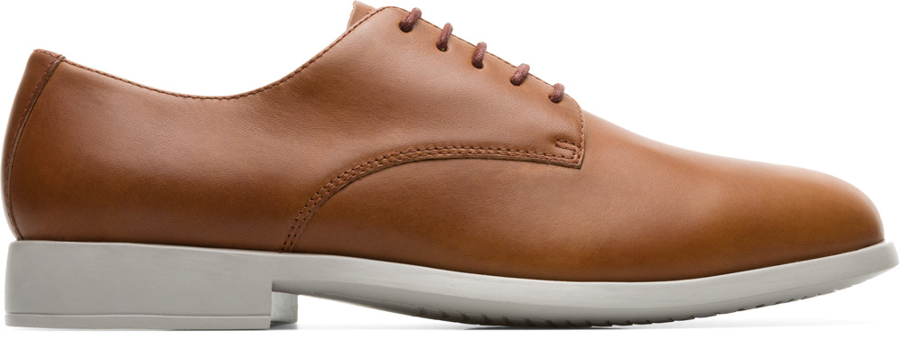 Camper Truman Brown Formal Shoes Men K100243-007