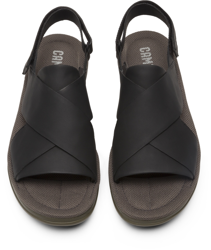 Camper Marges Black Sandals Men K100266-001