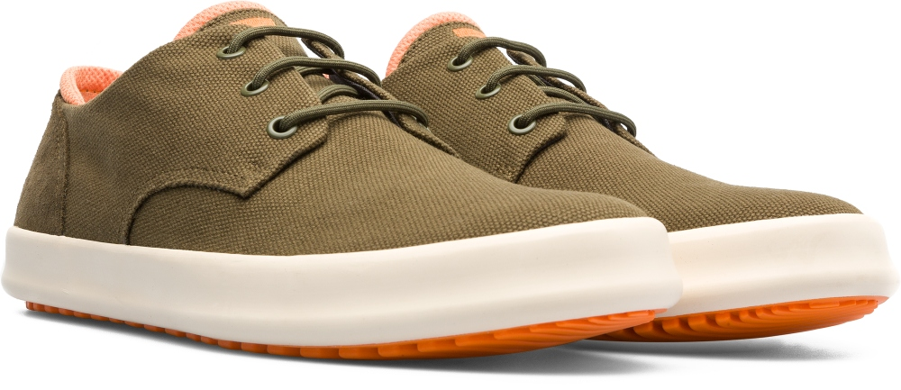Camper Chasis Green Casual Shoes Men K100281-002
