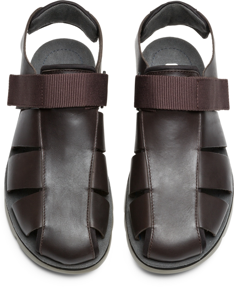 Camper Oruga Brown Sandals Men K100285-002