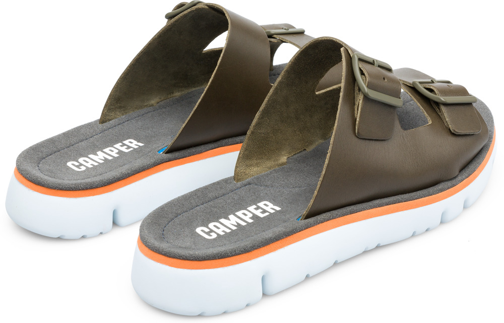 Camper Oruga Green Sandals Men K100286-002