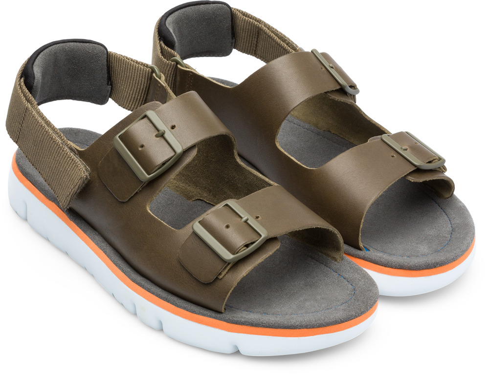 Camper Oruga Green Sandals Men K100287-003