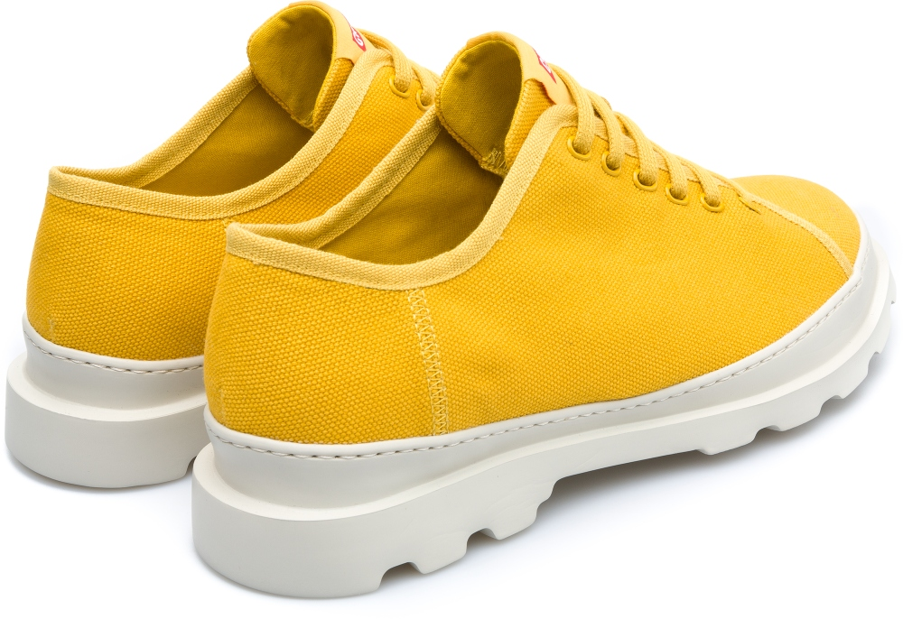 Camper Brutus Yellow Casual Shoes Men K100294-007