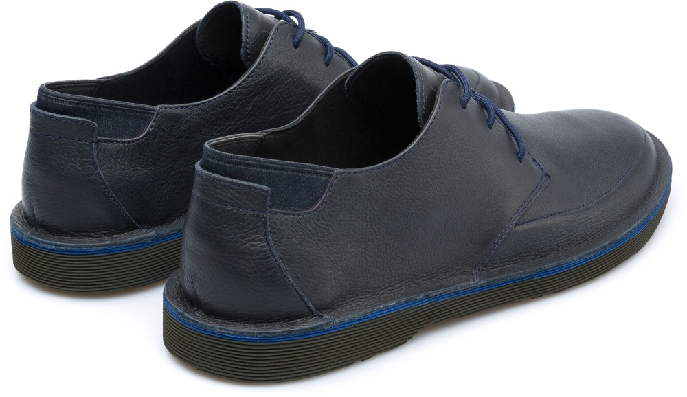 Camper Morrys Blue Formal Shoes Men K100295-001