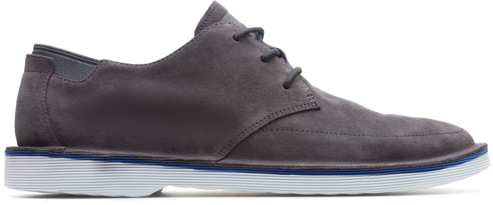 Camper Morrys Grey Formal Shoes Men K100295-005