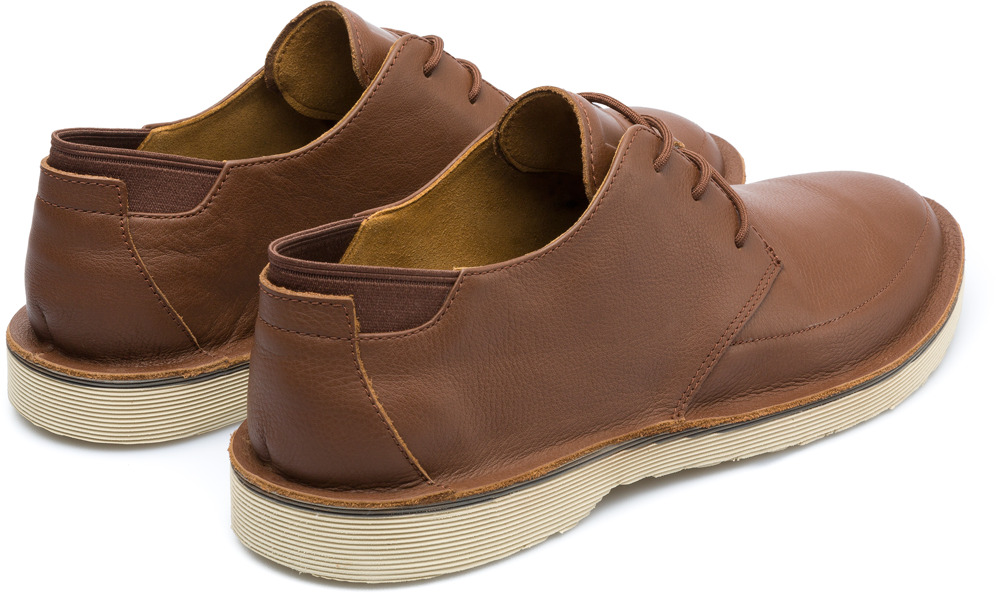 Camper Morrys Brown Formal Shoes Men K100295-006