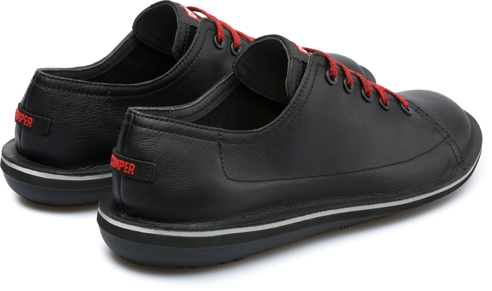 Camper Beetle Black Casual Shoes Men K100307-002