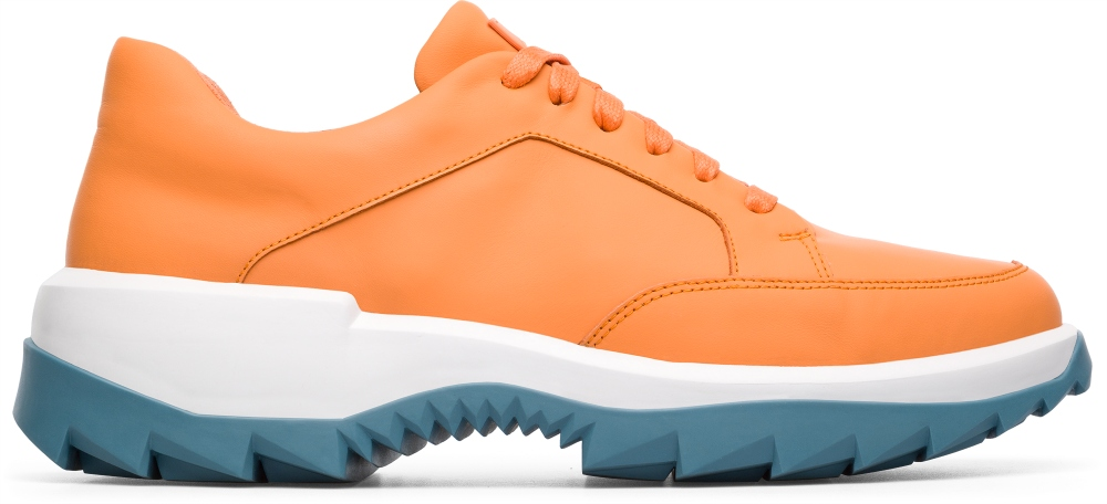 Camper Helix Orange Sneakers Men K100316-001