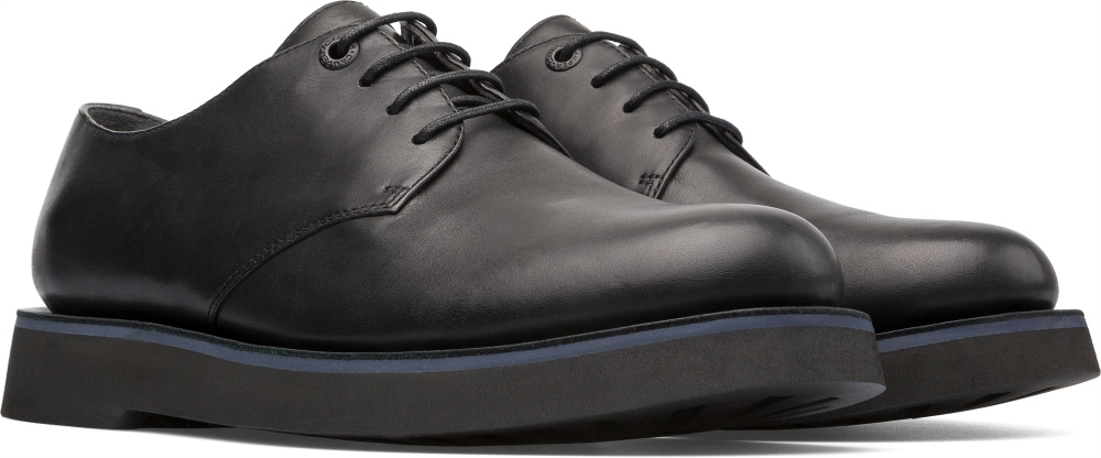 Camper Tyre Black Formal Shoes Men K100362-001