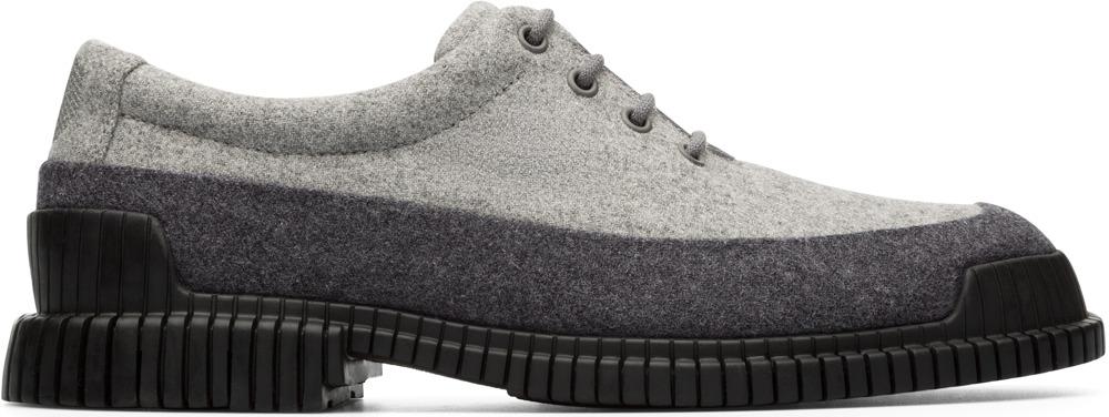 Camper Pix Gris Zapatos de vestir Hombre K100391-001