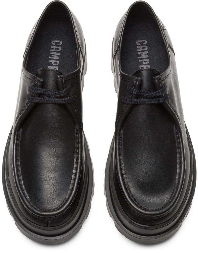 Camper Brutus Negro Zapatos Casual Hombre K100452-001