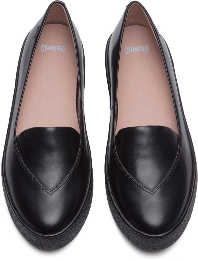 Camper Ambar Negro Zapatos planos Mujer K200006-004