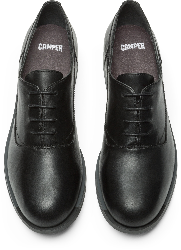 Camper Bowie Negro Zapatos planos Mujer K200016-008