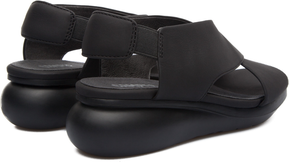 Camper Balloon Black Platforms Women K200066-003