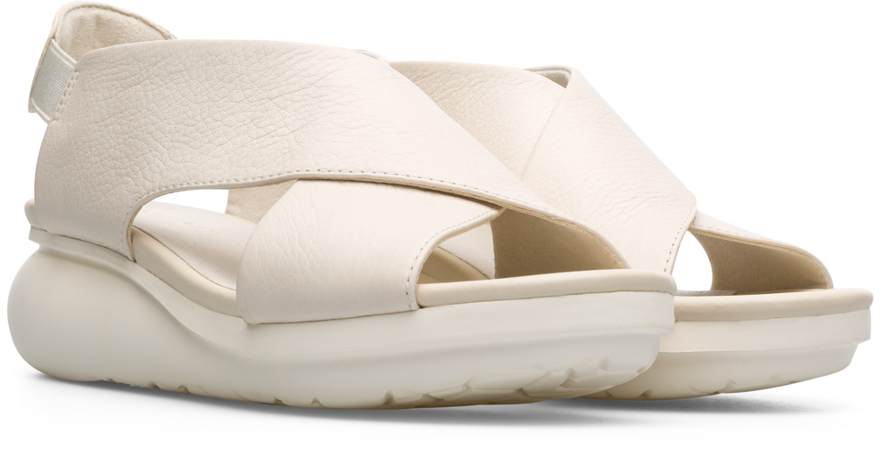 Camper Balloon Beige Casual Shoes Women K200066-019