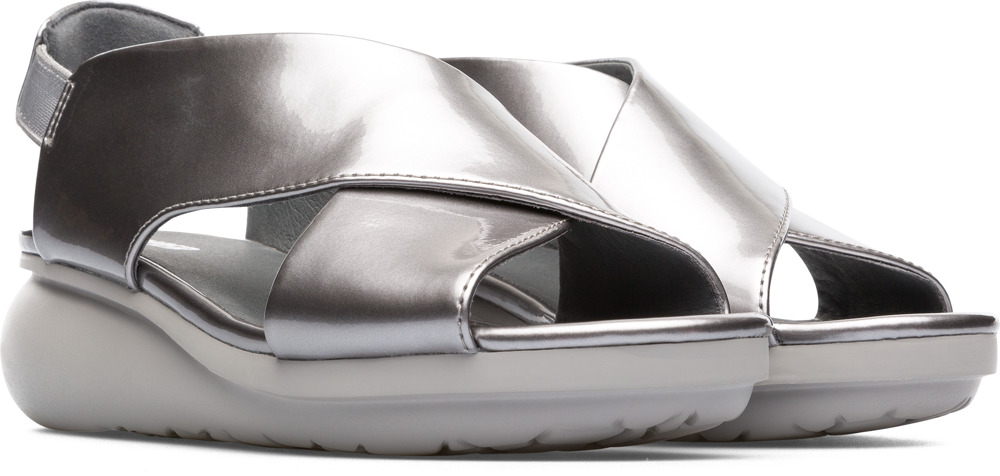 Camper Balloon Grey Casual Shoes Women K200066-026