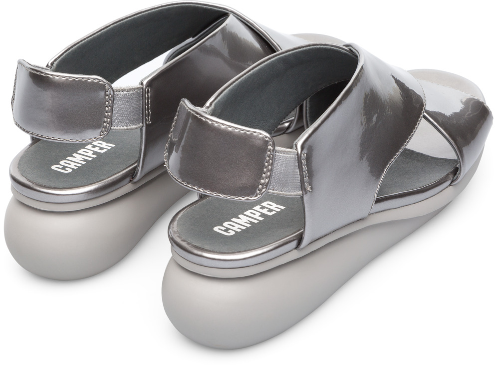 Camper Balloon Gris Zapatos Casual Mujer K200066-026