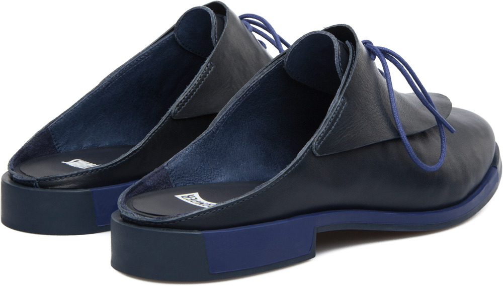 Camper Twins Blue Flats Women K200077-003