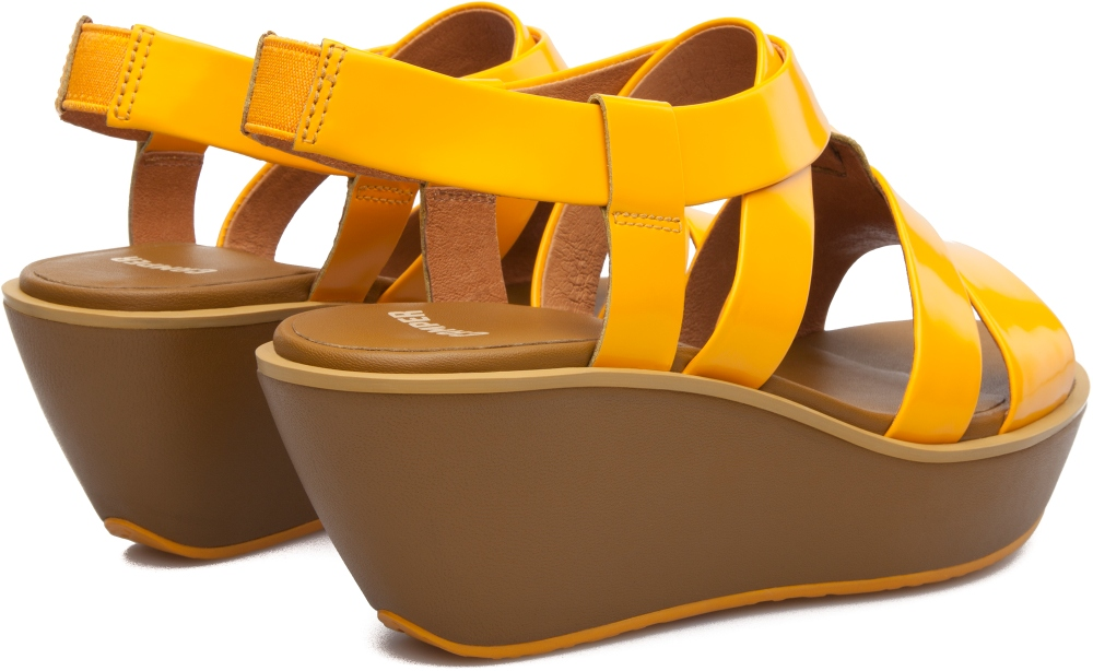 Camper Damas Yellow Platforms Women K200080-005