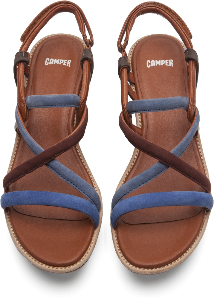 Camper Damas Multicolor Zeppe Donna K200082-006