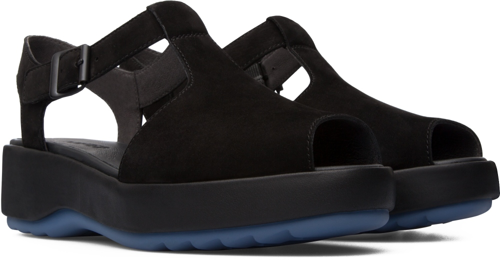 Camper Dessa Black Platforms / Wedges Women K200083-011