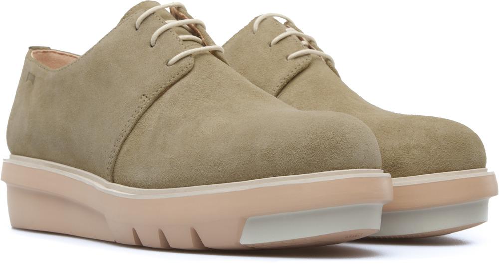 Camper Marta Beige Flat Shoes Women K200114-012
