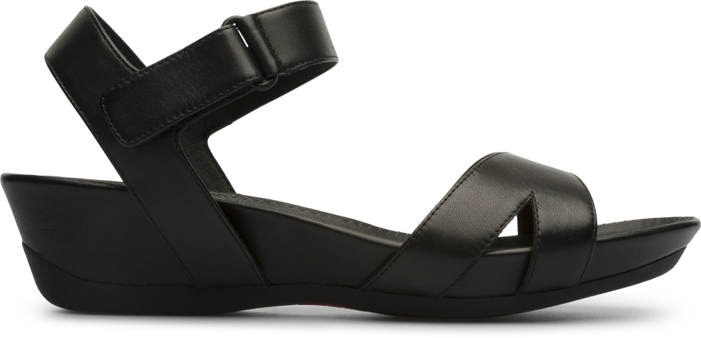 Camper Micro Black Sandals Women K200116-005