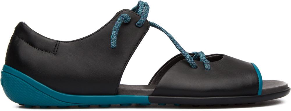 Camper Peu Circuit Black Sandals Women K200133-004